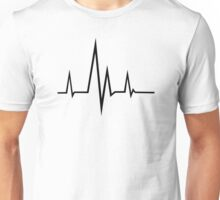 Frequency pulse Unisex T-Shirt