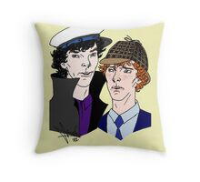 Hat-Tricks Throw Pillow