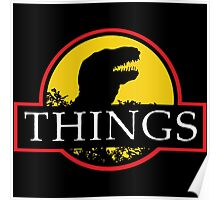 THINGS Jurassic Park Poster