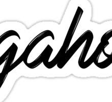 Dogaholic Sticker