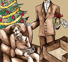 Christmas at 221B Baker Street - Surprise! by NadddynOpheliah