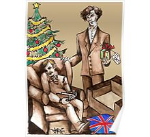 Christmas at 221B Baker Street - Surprise! Poster