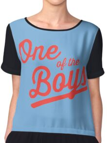 One of the Boys Chiffon Top