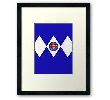 Super ranger Framed Print