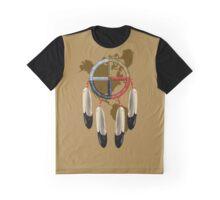 Native American Medicine Wheel America. Graphic T-Shirt