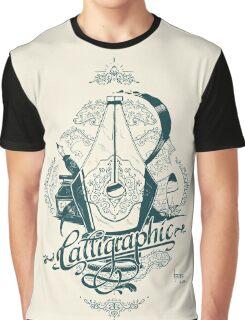 Calligraphic Graphic T-Shirt