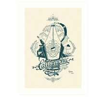 Calligraphic Art Print