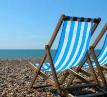 Summer on Brighton Beach Sticker