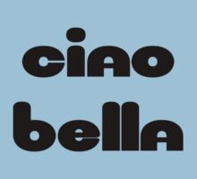 Ciao Bella Sticker Kids Tee
