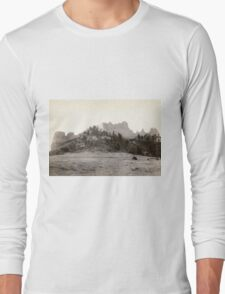 Crow Butte - John Grabill - 1891 Long Sleeve T-Shirt