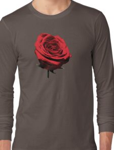 Red, Red Rose Long Sleeve T-Shirt