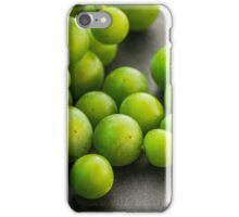 Green grapes. iPhone Case/Skin
