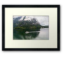 Discover Lake Hallstatt, Austria Framed Print