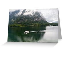 Discover Lake Hallstatt, Austria Greeting Card