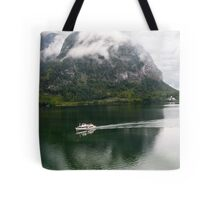 Discover Lake Hallstatt, Austria Tote Bag