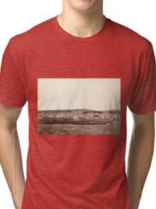 Custer City - John Grabill - 1890 Tri-blend T-Shirt