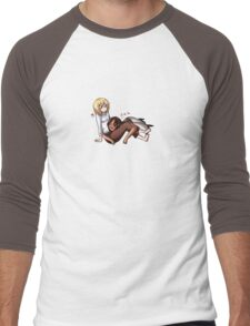 Nap Time Men's Baseball ¾ T-Shirt