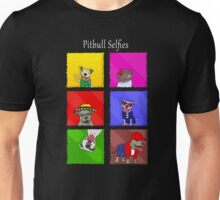 Pitbull selfies Unisex T-Shirt