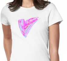 Fractal - Heart's Desire Womens Fitted T-Shirt