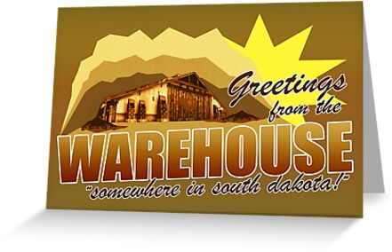 Greetings from the Warehouse by halfabubble