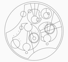 'Gallifrey Falls No More.' in Gallifreyan - Sleek (Black) One Piece - Short Sleeve