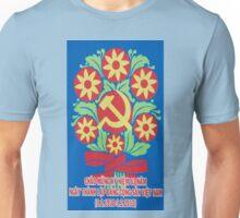 Vietnam Propaganda - Flowers Unisex T-Shirt