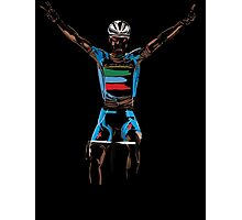 nibali yellow Photographic Print