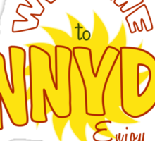 Welcome to Sunnydale Sticker