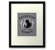 Holmes Agency Framed Print