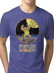 A Three headed Monkey! Tri-blend T-Shirt