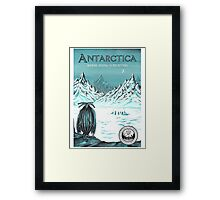 Antarctic - where seeing is believing Framed Print