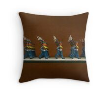 Spanish military models 3 Throw Pillow
