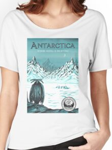 Antarctic - where seeing is believing Women's Relaxed Fit T-Shirt