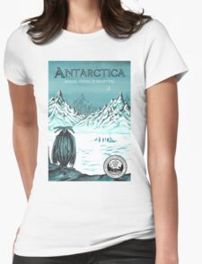 Antarctic - where seeing is believing Womens Fitted T-Shirt