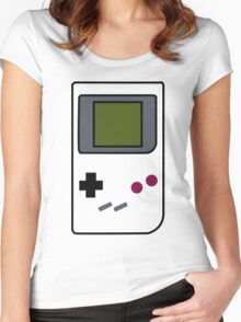 Simplistic Original Gameboy Women's Fitted Scoop T-Shirt
