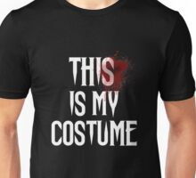 This Is My Costume Halloween Special Unisex T-Shirt