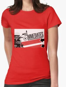 The Immediates Scooter Art Womens Fitted T-Shirt