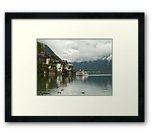 Hallstatt, Austria's Most Beautiful Lake Framed Print