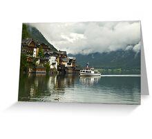 Hallstatt, Austria's Most Beautiful Lake Greeting Card