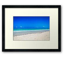 Zanzibar - Paje Beach Framed Print