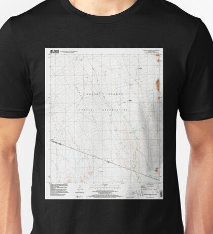 USGS TOPO Map Arizona AZ Tecolote Ranch 313672 1996 24000 Unisex T-Shirt