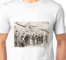 Deadwood Central RR Engineer Corps - John Grabill - 1888 Unisex T-Shirt