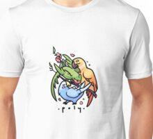 Polyamory Parrots Unisex T-Shirt