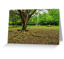roots and staircase Greeting Card