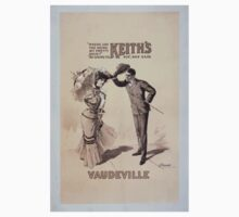 Performing Arts Posters Where are you going my pretty maid Im going to Keiths Vaudeville Sir she said 0350 Kids Tee
