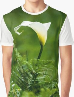 Lilly flower Graphic T-Shirt