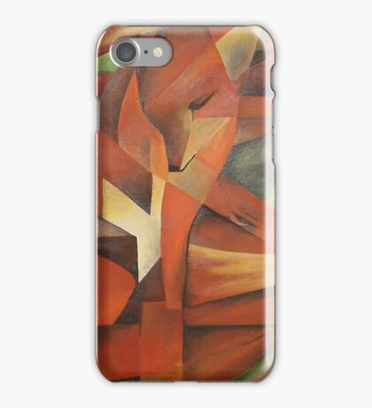 """Foxes"" -  Homage to Franz Marc (1913)     iPhone Case/Skin"