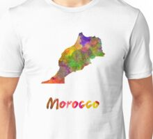 Morocco in watercolor Unisex T-Shirt