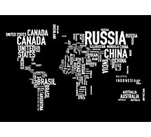 Countries of the world I Photographic Print