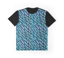 Handmade colored pattern Graphic T-Shirt